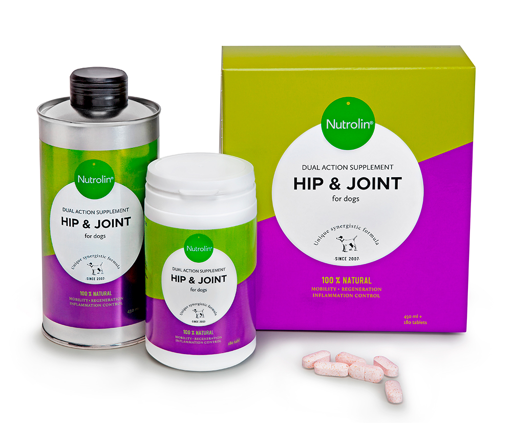 Nutrolin Hip & Joint, 450 ml + 180 tabl