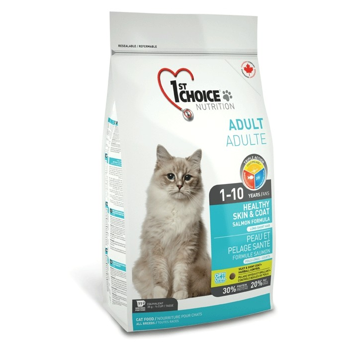 1st Choice Cat Adult Healthy Skin & Coat 2,72 kg