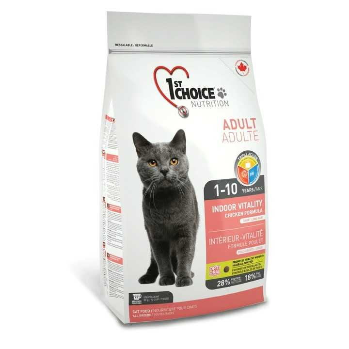 10kg 1st Choice Cat Indoor Vitality