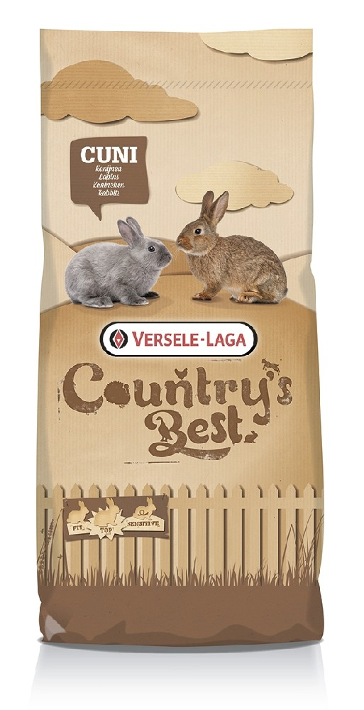 Versele-Laga Country's Best Cuni Fit Pure, Täysrehupelletit 20kg