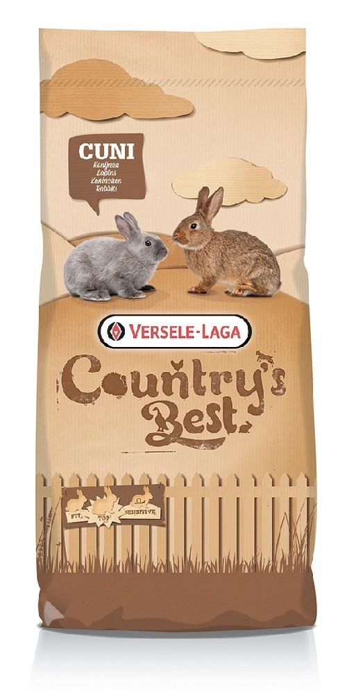 Versele-Laga Country's Best Cuni Fit Plus,Täysrehupelletit 20kg