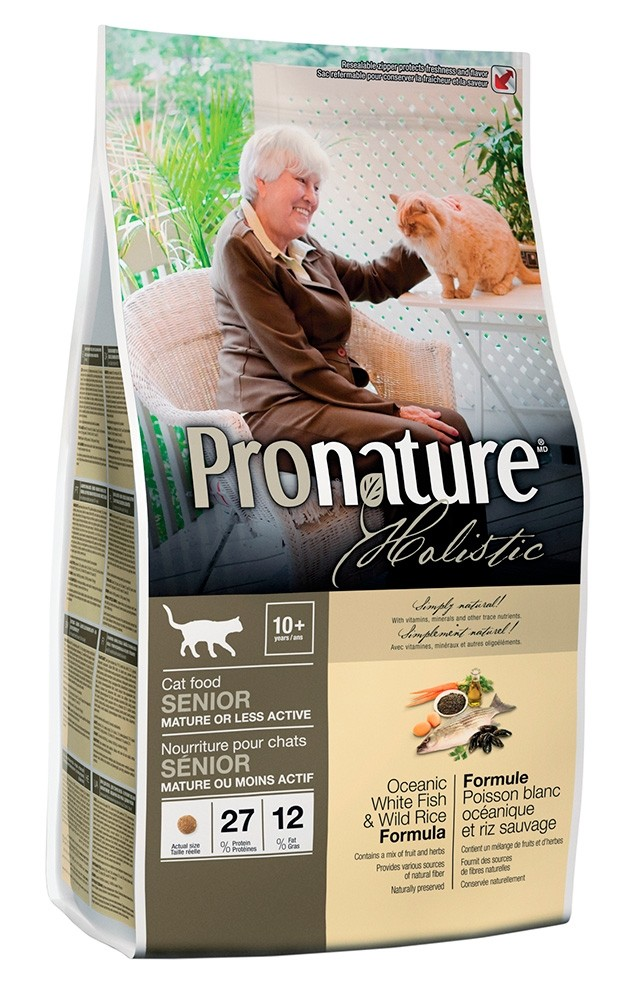 Pronature Holistic Merisiika & villiriisi, SENIOR kissalle 2,72