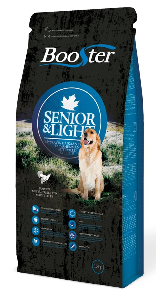 Booster Senior & Light 15 kg
