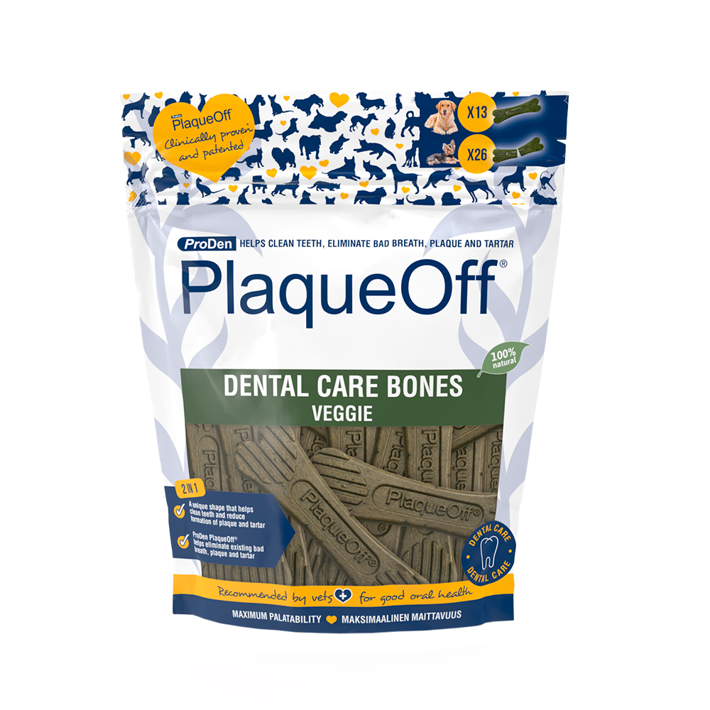 PlaqueOff Dental Bones, 482g VEGE
