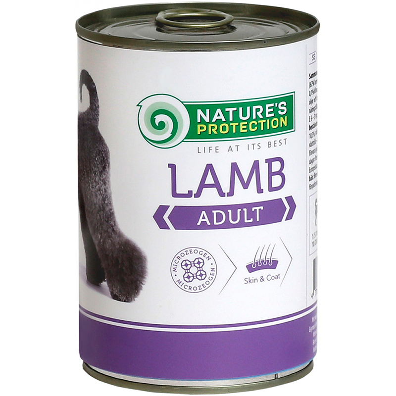 Nature's Protection Dog Adult Lammas, säilyke 400 g