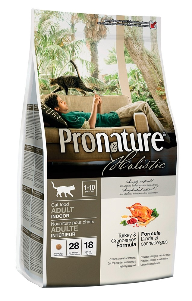Pronature Holistic Kalkkuna & karpalo, kissalle 2,72