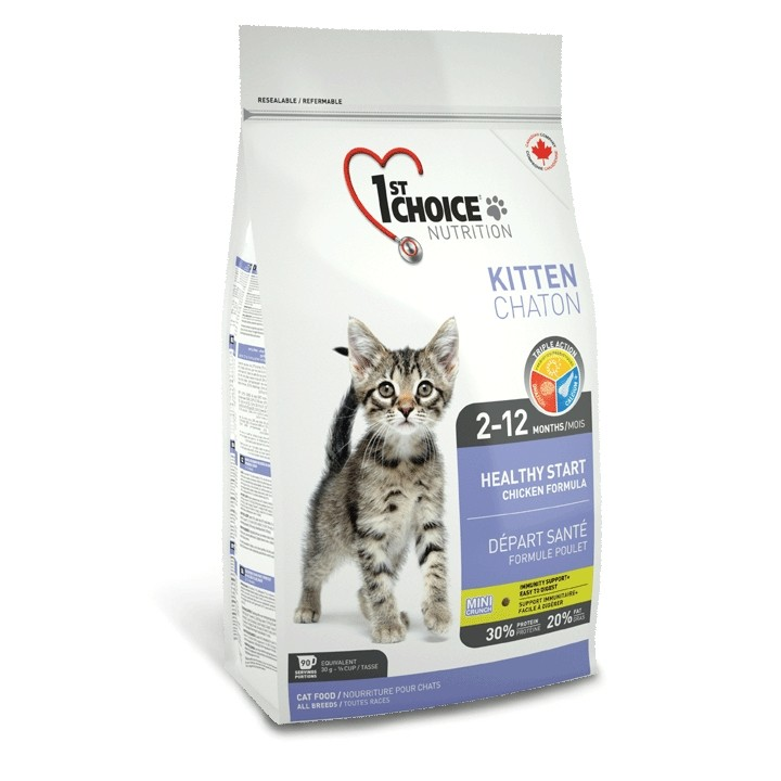 1st Choice Cat Adult Kitten Healthy Start 350 g