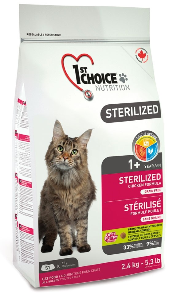 1st Choice Cat Adult Sterilized 5,0 kg