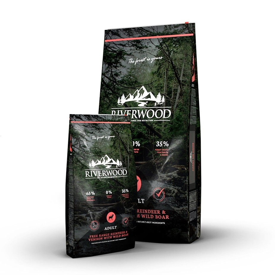 Riverwood Adult Poro, peura ja villisika 2 kg