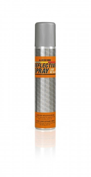 Reflective Spray: Light metallic 200 ml - Kaupan päälle sapluuna