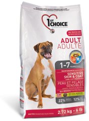 1st Choice Adult Sensitive Skin & Coat 2,72 kg